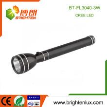 Fabrik Großhandel Ni-Mh Akku Gebraucht Metall Material Super Bright Notfall 3watt Cree wiederaufladbare hohe Leistung LED-Taschenlampe Licht
