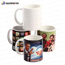 Непосредственно фабрика Популярные горячие продажи Дешевые 11 унций сублимации керамические белые кружки чашки