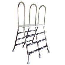 Swimming pool ladder and swimming pool escalator