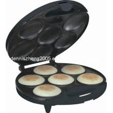 6-portions Arepa Maker électrique feuilles anti-adhésives partie 6 - faire professionnel Arepas & Empanadas de Surface