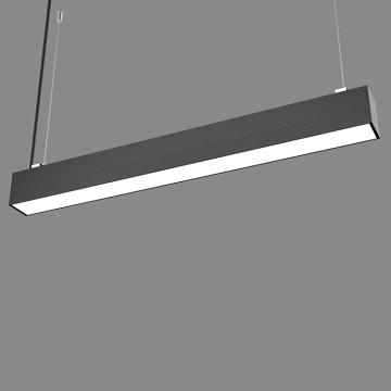 perfil colgante mercado de luz lineal led