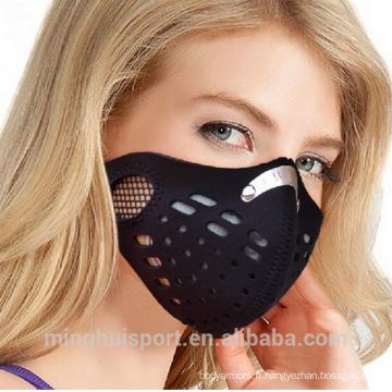 MH moto racing masque anti-poussière respirant et élastique demi masque de formation à vendre