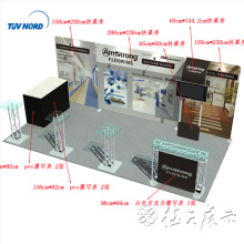 Unique Pop Up tradeshow Display Good price of strong us pop up tension fabric show