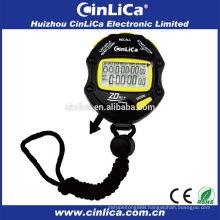 20 group memory mini digital wall stopwatch professional sports stopwatch HS-8200