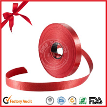 Wholesale Custom Red Ribbon Roll for Gift Decorative