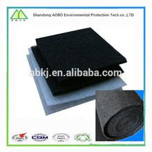 Factory price sales filter cloth/ filter cotton in roll (blue and white color)