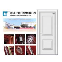 Puerta de acero interior de madera (LTG-120)