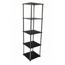 Tempered Glass Display Cabinet with Metal Frame