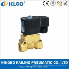 Válvula de solenóide de alta pressão 24V da água da alta temperatura da série Kl523