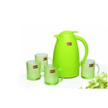Maçã verde cor jarro de vidro conjunto utensílios de cozinha Kb-Jh06171