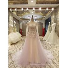 Neue Ankunfts-2017 Mehrfarbenheirat-blasse rosafarbene Hochzeits-Kleider