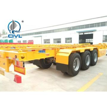 3 As Transportasi Kontainer Trailer kerangka 40FT