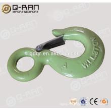 Fábrica gota forjado de aleación acero productos gancho del aparejo