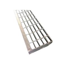 Non slip industrial stair treads steel grating