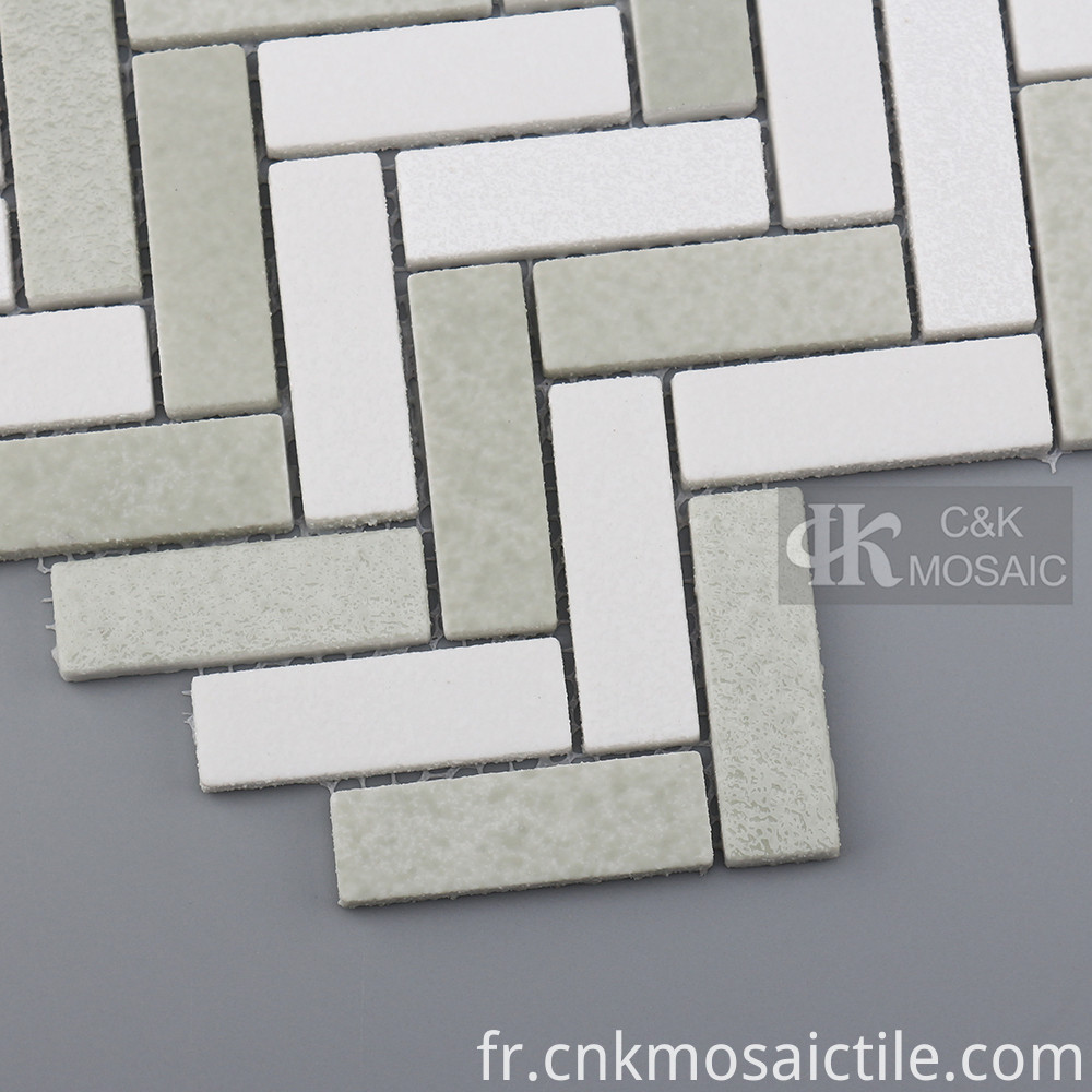 Glass Mosaic Tile Kitchen Backsplash