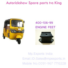 Tvs Auto Body Engine Bed Rubber Square Spare parts with low price