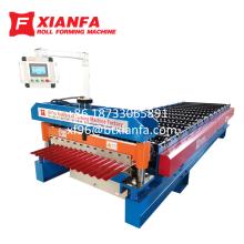 Máquina formadora de láminas para techos de perfil ondulado