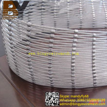 Flexible Stainless Steel Rope Mesh for Water Resistant Wood Types