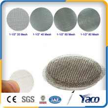 Hot sale stainless steel Smoking pipe Steel dome screens