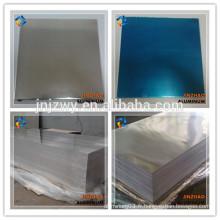 Plaques et plaques en alliage d'aluminium 6063 T6 de haute qualité en Chine