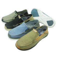 Обувь новый стиль удобный Мужской скольжения на обувь досуг холст обувь
