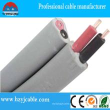 Плоский и двойной кабель оболочки Медный провод