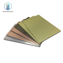Fireproof Fluorocarbon Aluminum Plastic Composite Panel