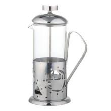Imprensa francesa de aço inoxidável do café 350ml / 600ml