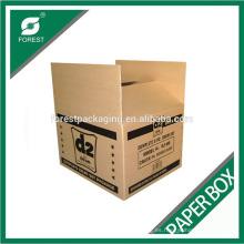Caja corrugada de encargo de Kraft de Rsc de la fábrica para enviar