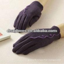 fashion cashmere touchscreen gloves