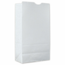 Saco de embalagem de papel de varejo promocional