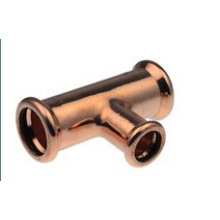 Copper Press Fitting T-Coupling Reduction 22*18*22