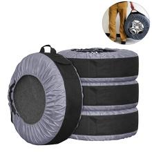 Acessórios exteriores de carro capa universal de pneu de carro oxford