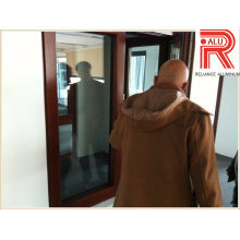 Aluminium / Aluminium-Legierung Profil für Gebäude Fenster Türvorhang Wand (RAL-593)