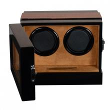 Wooden Watch Winder mit Touchscreen