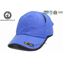 Classic 100% Polyester Microfibre Mesh Outdoor Golf Sport Cap avec broderie