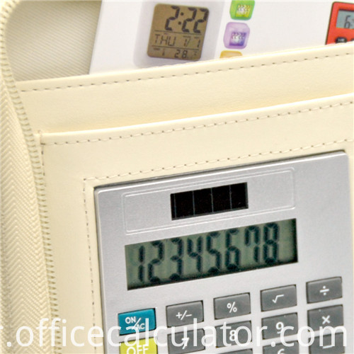 multifunction notebook calculator