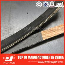 Bande de conveyeur en caoutchouc de tissu de polyester de haute résistance pour la charge lourde