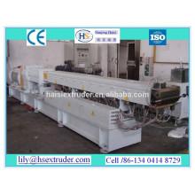 Price of CE plastic extrusion machine for PP/ PE +Carbon black