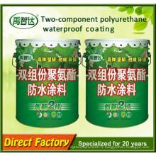 Le ciment a basé le matériel imperméable de polyuréthane de deux composants de Js