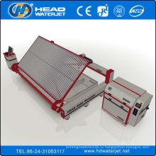 Станок для гидроабразивной резки стекла 380Mpa с системой загрузки