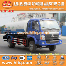 FOTON FORLAND 4x2 6000L suction fecal truck 130hp cheap price