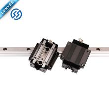 Miniature Linear guide HSR15 HSR20 HSR25 HSR30 motorized linear slide linear motion guide rail low price linear guide rail