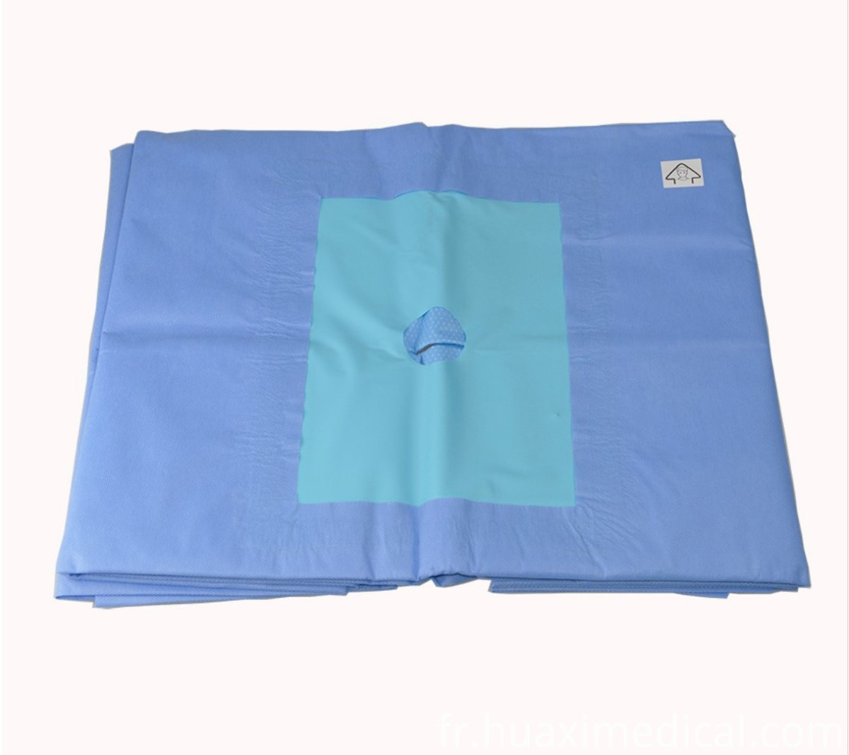 surgical hip drape