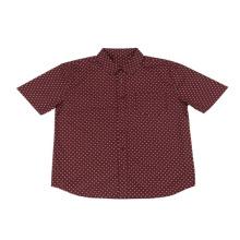 Gran venta Stock Lot Camisa estampada de algodón para hombres