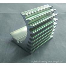 CNC Machining Parts Aluminium Profile for Heatsinks with Different Shape