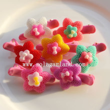 Various Jewelry Star and Flower Hair Grip Accessories