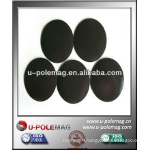round magnetic rubber sheets 38x0.5mm with adhesive
