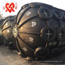 Garde-boue pneumatique en caoutchouc marin très utilisé du monde pour le bateau / dock / jetée / navire
