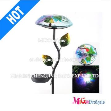 Printing Metal Light Stake LED Solar Garden Light